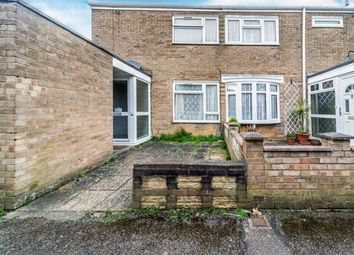 Thumbnail 2 bed end terrace house for sale in Ely Close, Stevenage, Hertfordshire, England