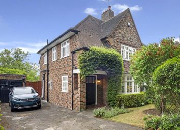 Thumbnail 3 bed semi-detached house for sale in Hill Top, Hampstead Garden Suburb, London