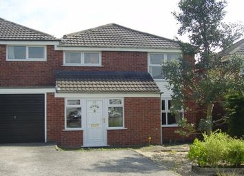 Thumbnail 3 bed detached house to rent in Sandon Crescent, Little Neston