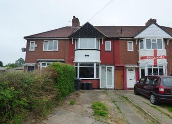 Thumbnail 2 bedroom terraced house for sale in Shard End Crescent, Birmingham, West Midlands