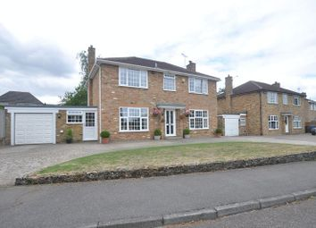 Thumbnail 4 bed detached house for sale in Coniston Way, Church Crookham, Fleet