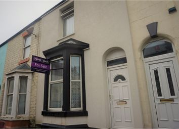 Thumbnail 2 bedroom terraced house for sale in Belmont Avenue, Blackpool