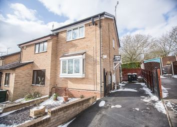 Thumbnail 2 bed semi-detached house for sale in Thorpefield Close, Thorpe Hesley, Rotherham