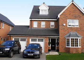 Thumbnail 5 bed detached house to rent in Carnoustie Close, Ashington