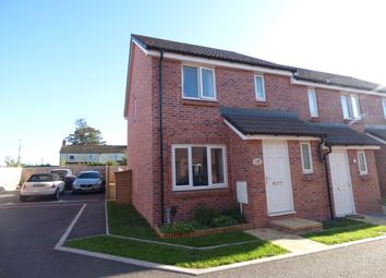 Thumbnail 3 bed end terrace house to rent in Beech Road, Cranbrook, Exeter