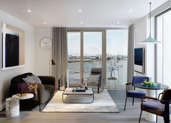Thumbnail 2 bed flat for sale in The Lighterman, Greenwich Peninsula, London SE10, London,