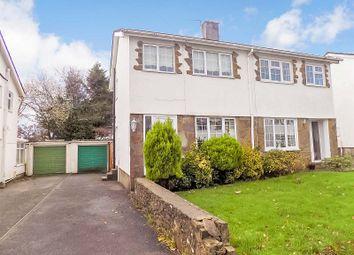 Thumbnail 3 bed semi-detached house for sale in Taliesin Close, Pencoed, Bridgend.