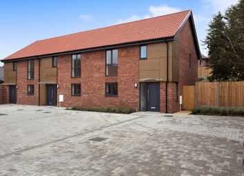 Thumbnail 3 bed terraced house for sale in Whooper Close, Long Stratton, Norwich