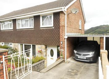 Thumbnail 3 bed semi-detached house for sale in Hillcrest Drive, Porth