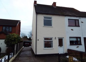 Thumbnail 2 bed end terrace house for sale in Burntwood Road, Norton Canes, Staffodrdshire