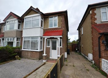 Thumbnail 3 bed semi-detached house for sale in Staines Road, Bedfont, Feltham