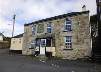 Thumbnail Pub/bar for sale in Brea Inn Freehold, Higher Brea, Camborne, Camborne