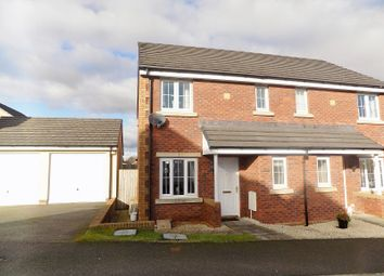 Thumbnail 3 bed semi-detached house for sale in Gallt Y Ddrudwen, Broadlands, Bridgend.