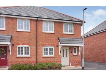 Thumbnail 3 bed semi-detached house for sale in Parc Tyddyn Bach, Holyhead