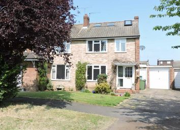 Thumbnail 4 bed semi-detached house for sale in Spence Avenue, Byfleet, Surrey