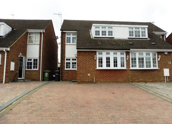 Thumbnail 3 bed semi-detached house for sale in Buryholme, Broxbourne