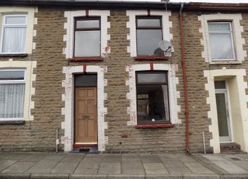 Thumbnail 3 bedroom terraced house for sale in Vicarage Terrace, Treorchy, Rhondda, Cynon, Taff.