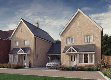 Thumbnail 3 bed detached house for sale in Plot 6, 'the Chancellors', Bedford Road, Moggerhanger
