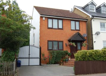 Thumbnail 4 bed detached house to rent in Victoria Road, Buckhurst Hill