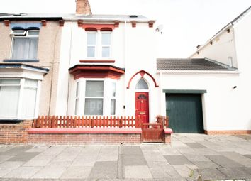 Thumbnail 3 bed end terrace house to rent in Thornville Road, Hartlepool