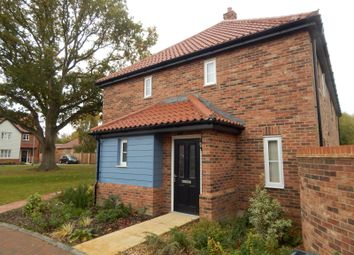 Thumbnail 2 bed semi-detached house to rent in Minns Crescent, Poringland, Norwich