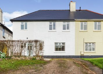Thumbnail 4 bed semi-detached house for sale in Silver Street, Thorverton