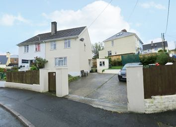 Thumbnail 4 bedroom semi-detached house for sale in Orchard Crescent, Plymstock, Plymouth