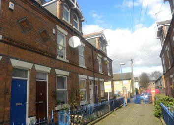 Thumbnail 3 bedroom terraced house for sale in Harcourt Terrace, Nottingham