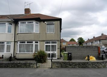 Thumbnail 3 bedroom semi-detached house to rent in Stoneleigh Road, Knowle, Bristol