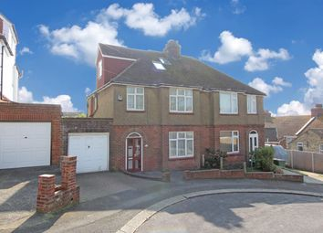Thumbnail 5 bed semi-detached house for sale in Segrave Road, Folkestone, Kent