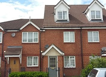 Thumbnail 3 bed terraced house to rent in Miller Road, Bedford