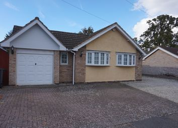 Thumbnail 3 bed bungalow to rent in Silverwood Close, Leicester