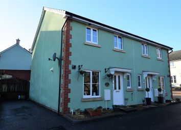 Thumbnail 3 bed semi-detached house for sale in Kensey Court, Launceston