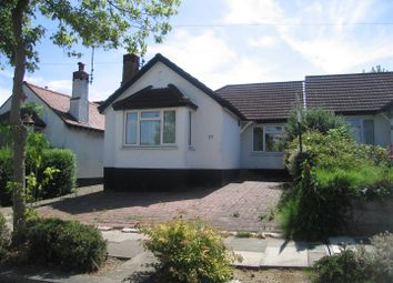 Thumbnail 2 bed bungalow to rent in Adalia Crescent, Leigh-On-Sea