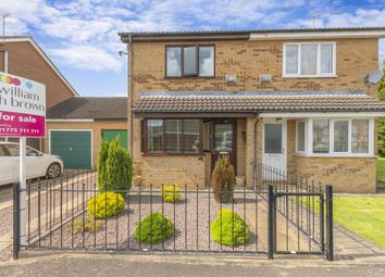 Thumbnail 2 bed semi-detached house for sale in Lancelot Way, Spalding