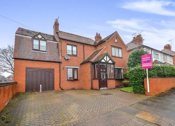Thumbnail 3 bedroom detached house for sale in Perlethorpe Avenue, Mansfield, Nottinghamshire