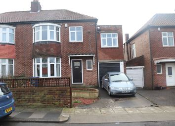 Thumbnail 4 bedroom semi-detached house for sale in Friarside Road, Newcastle Upon Tyne