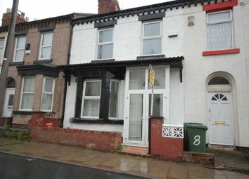 Thumbnail 3 bedroom terraced house to rent in Charlotte Road, Wallasey, Wirral