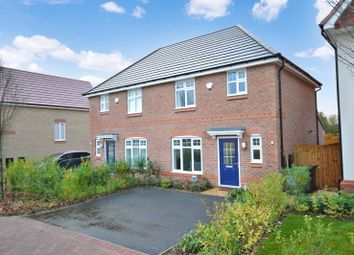 Thumbnail 3 bed semi-detached house for sale in West Way, Shifnal