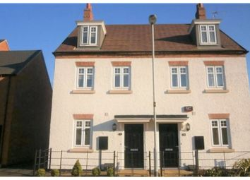 Thumbnail 3 bed town house for sale in Battleflat Drive, Ellistown