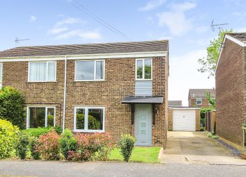 Thumbnail 3 bed semi-detached house for sale in Anson Drive, St. Ives