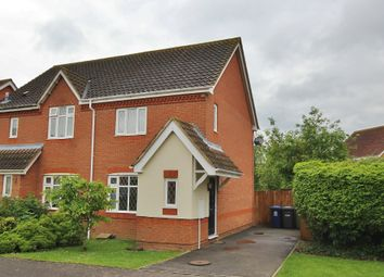 Thumbnail 2 bed semi-detached house to rent in Landcliffe Close, St. Ives