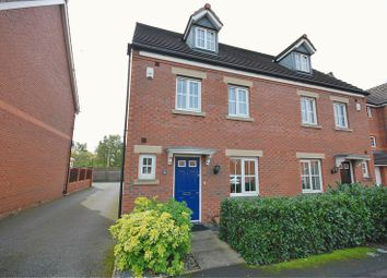 Thumbnail 4 bed semi-detached house for sale in Kennett Drive, Bredbury, Stockport
