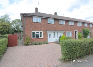 Thumbnail 3 bed terraced house for sale in Elmwood Avenue, Borehamwood, Hertfordshire