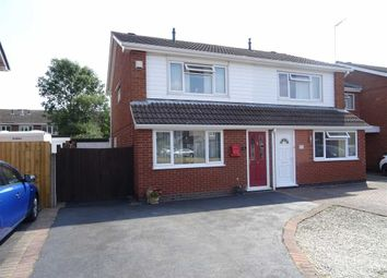 Thumbnail 3 bed semi-detached house for sale in Lochmore Way, Hinckley