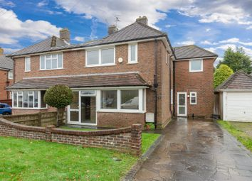 Thumbnail 4 bedroom semi-detached house for sale in Glenthorn Road, Bexhill-On-Sea
