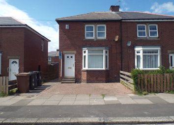 Thumbnail 2 bedroom semi-detached house to rent in Elizabeth Road, Wallsend