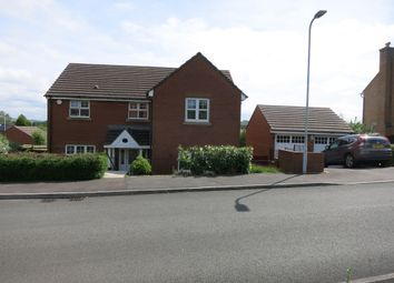 Thumbnail 4 bed detached house for sale in Homefarm Way, Parc Penllergaer, Swansea.