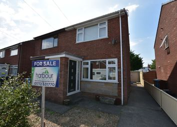 Thumbnail 2 bed semi-detached house for sale in Wades Croft, Freckleton, Preston