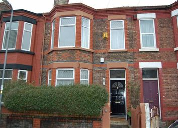 Thumbnail 3 bed terraced house to rent in Gladstone Road, Seaforth, Liverpool